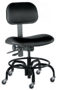 Economy Lab Chairs with Casters, BioFit