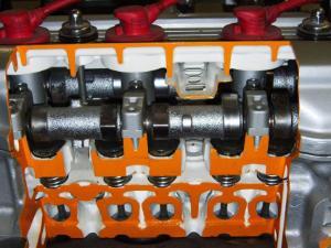 4 Cycle Toyota Gas Engine Cut-Away