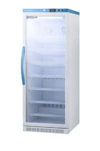 Medical laboratory series refrigerator with glass doors, 12 cu.ft.