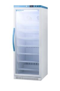 Pharma-vaccine series refrigerator with glass doors, 12 cu.ft.