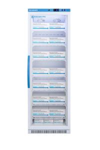 Pharma-vaccine series refrigerator with glass doors, 15 cu.ft.