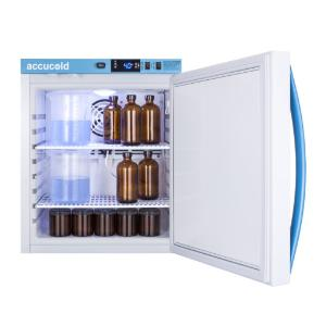 Medical laboratory series refrigerator with solid doors, 1 cu.ft.
