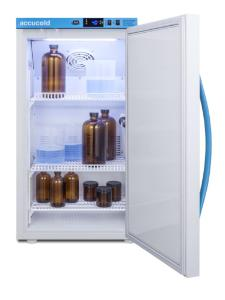 Medical laboratory series refrigerator with solid doors, 3 cu.ft.