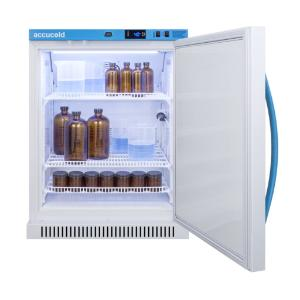 Medical laboratory series refrigerator with solid doors, 6 cu.ft.