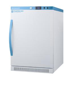 Pharma-vaccine series refrigerator with solid doors, 6 cu.ft.