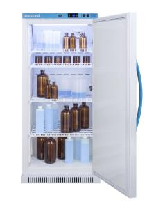 Medical laboratory series refrigerator with solid doors, 8 cu.ft.