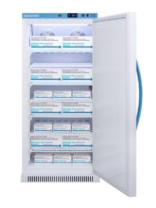 Pharma-vaccine series refrigerator with solid doors, 8 cu.ft.