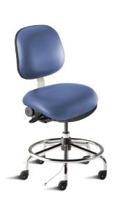 BioFit® Combination Clean Room/ESD Chairs and Stools, BioFit
