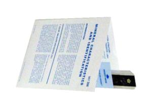 Microslide: Mineral Characteristics & Identification