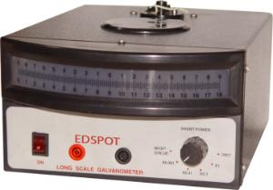 Galvanometer long scale