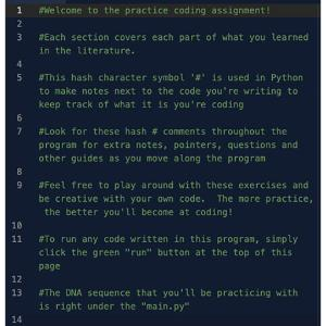 Python codes manual