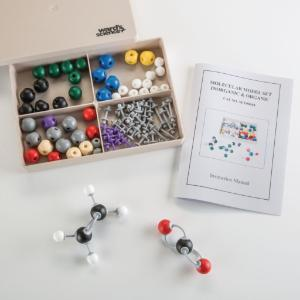 Ward's® Organic/Inorganic Molecular Model Student Set, 95 Pieces