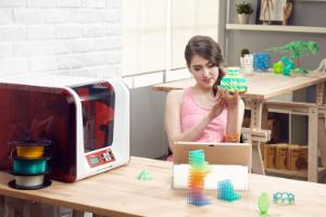 DaVinci Jr 2.0 Mix 3D Printer
