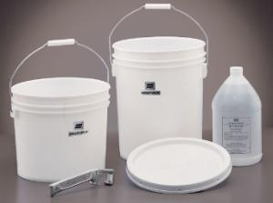 Pails with Steel Handles